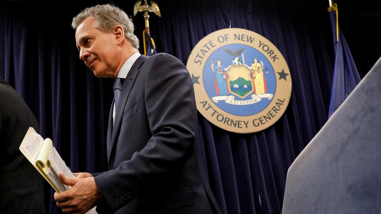 Le procureur de l'État de New York Eric Schneiderman