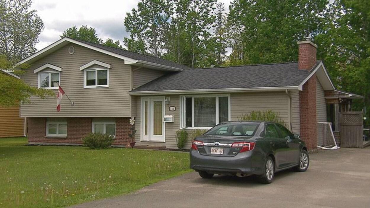 La propriété d'Hazel Robichaud, une retraitée de Dieppe, a été surévaluée dû au nouveau système d'évaluation foncière du Nouveau-Brunswick en 2017.