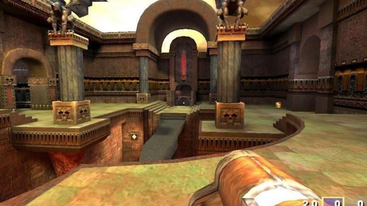 Une capture d'écran du jeu.