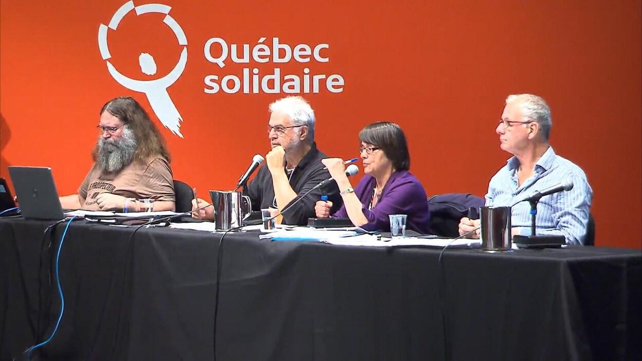 Le congrès de Québec solidaire se terminait lundi.