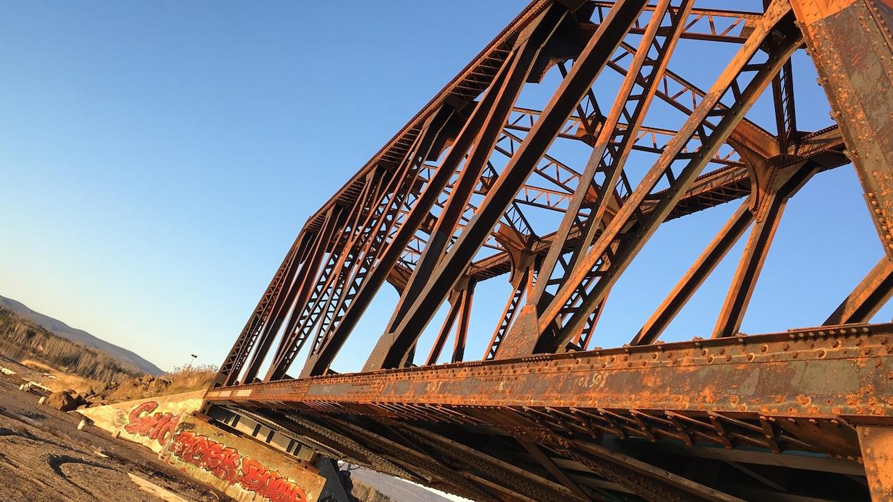 Pont Haldimand à Gaspé