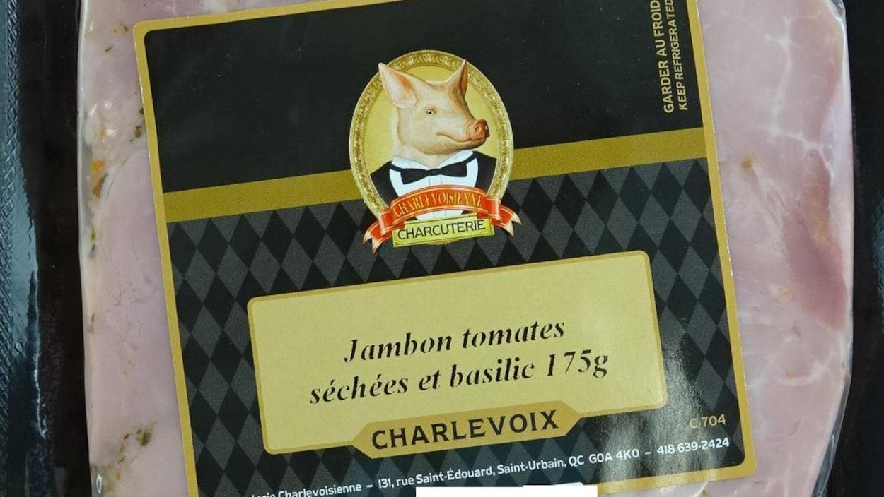 Un paquet de jambon
