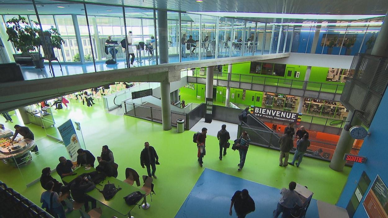 Un pavillon de Polytechnique Montréal.
