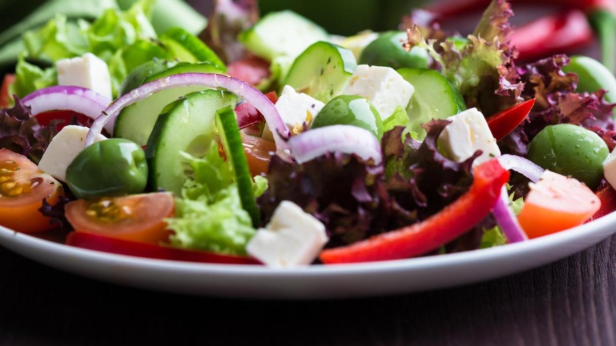 Photo d'une salade