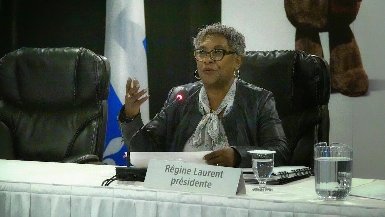 Régine Laurent.