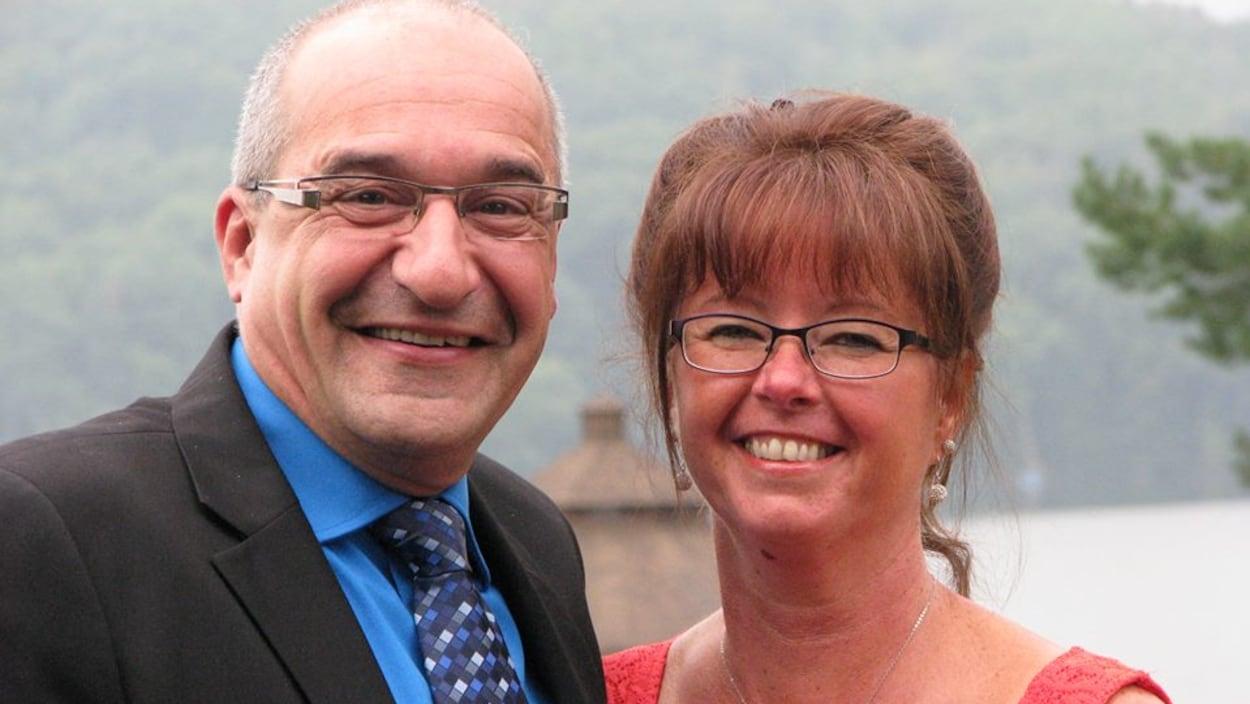 Rénald Dupont et Linda Déziel