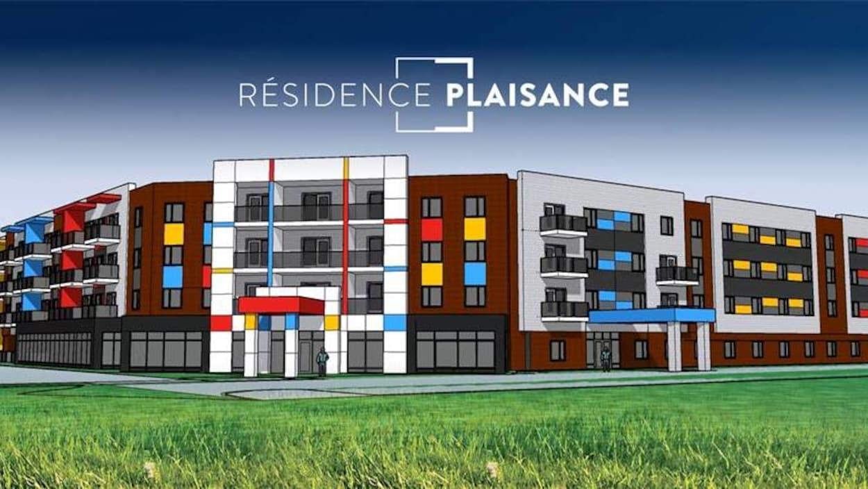 Dernière version du projet résidence Plaisance.