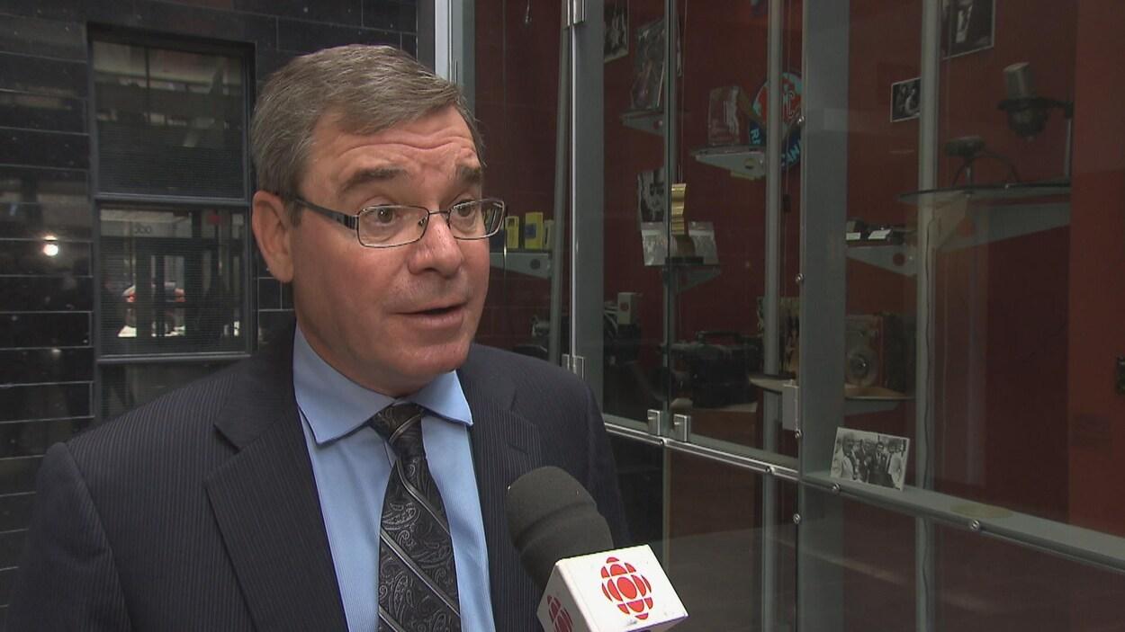 Richard Perron, président du Syndicat des professionnels du gouvernement du Québec