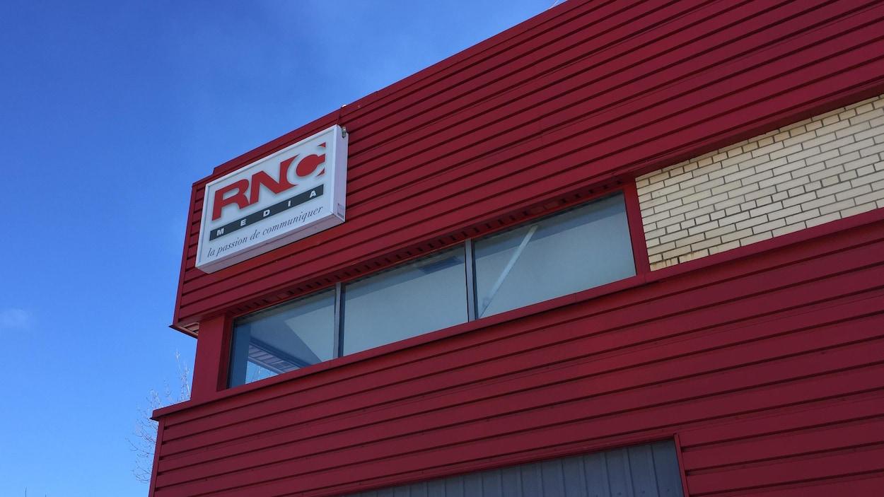 Les bureaux de RNC Media en Abitibi-Témiscamingue.