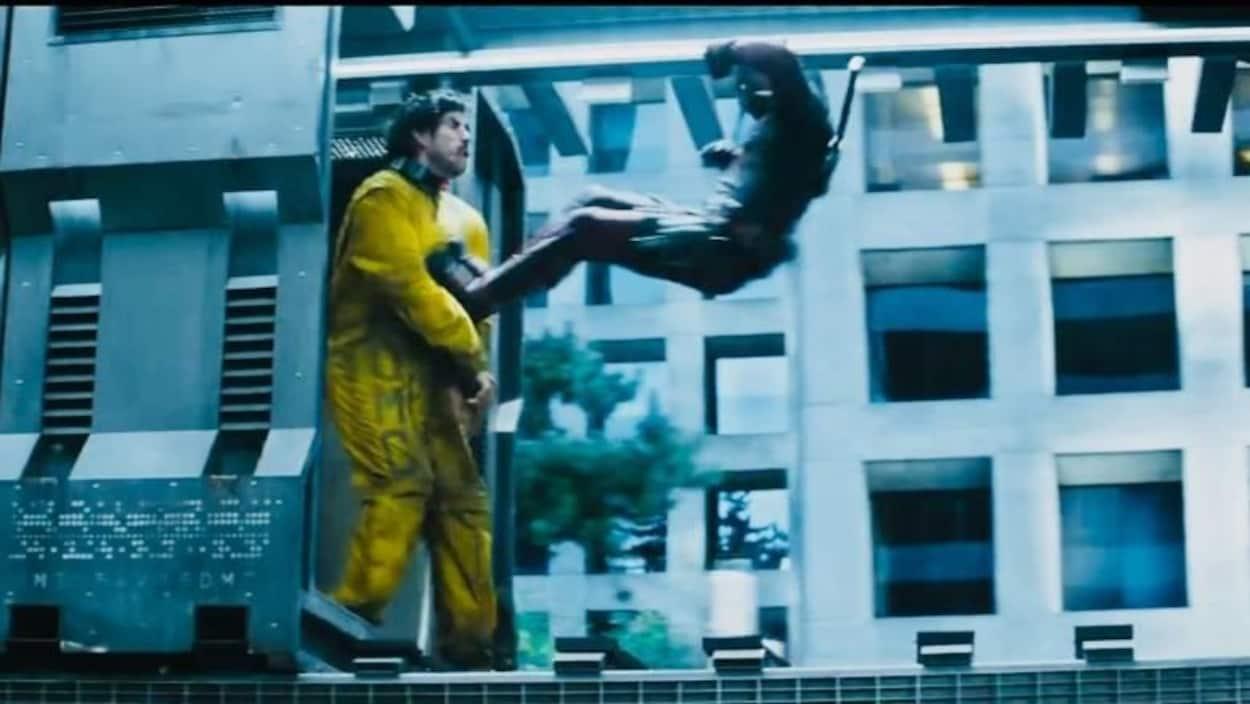 Robert Maillet dans son rôle de Sluggo, dans le film Deadpool 2