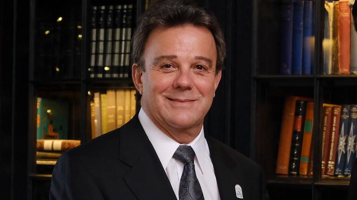 Robert Mercure, directeur général du Fairmont Le Château Frontenac