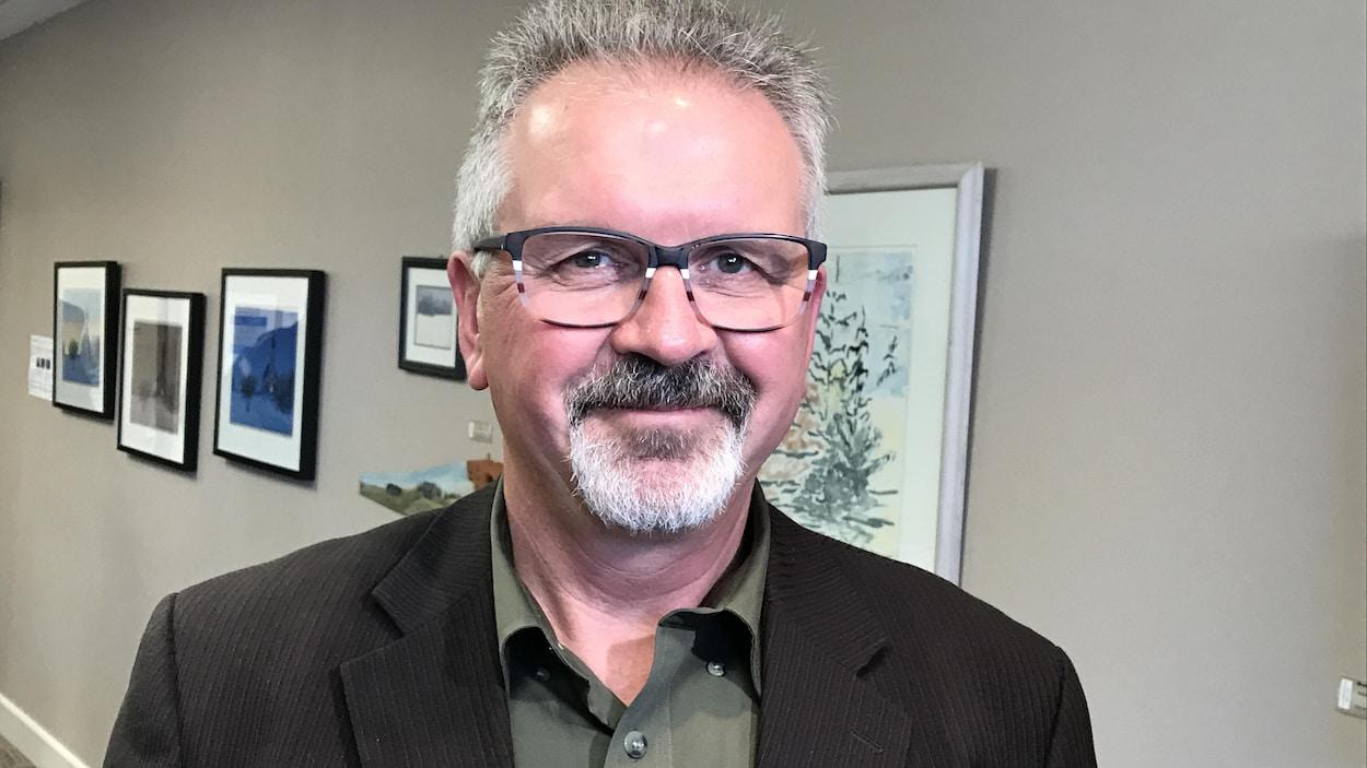 Robert Therrien, directeur du Réseau en immigration francophone de la Saskatchewan.