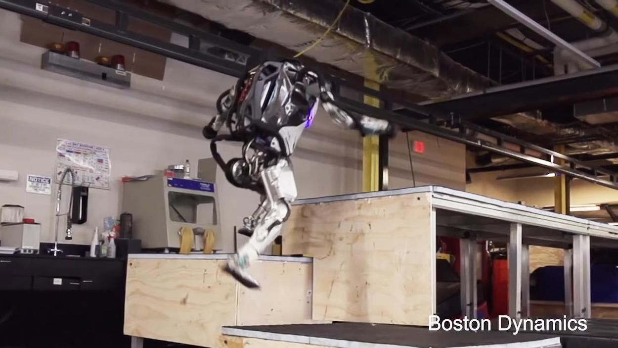 Robotique : nouvelles vidéos spectaculaires de Boston Dynamics