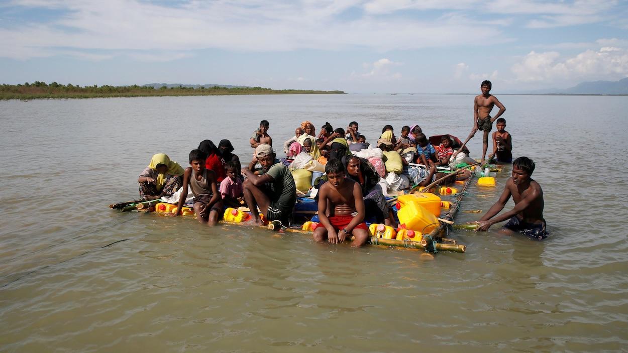 Jérôme Jarre et Omar Sy se mobilisent — Rohingyas