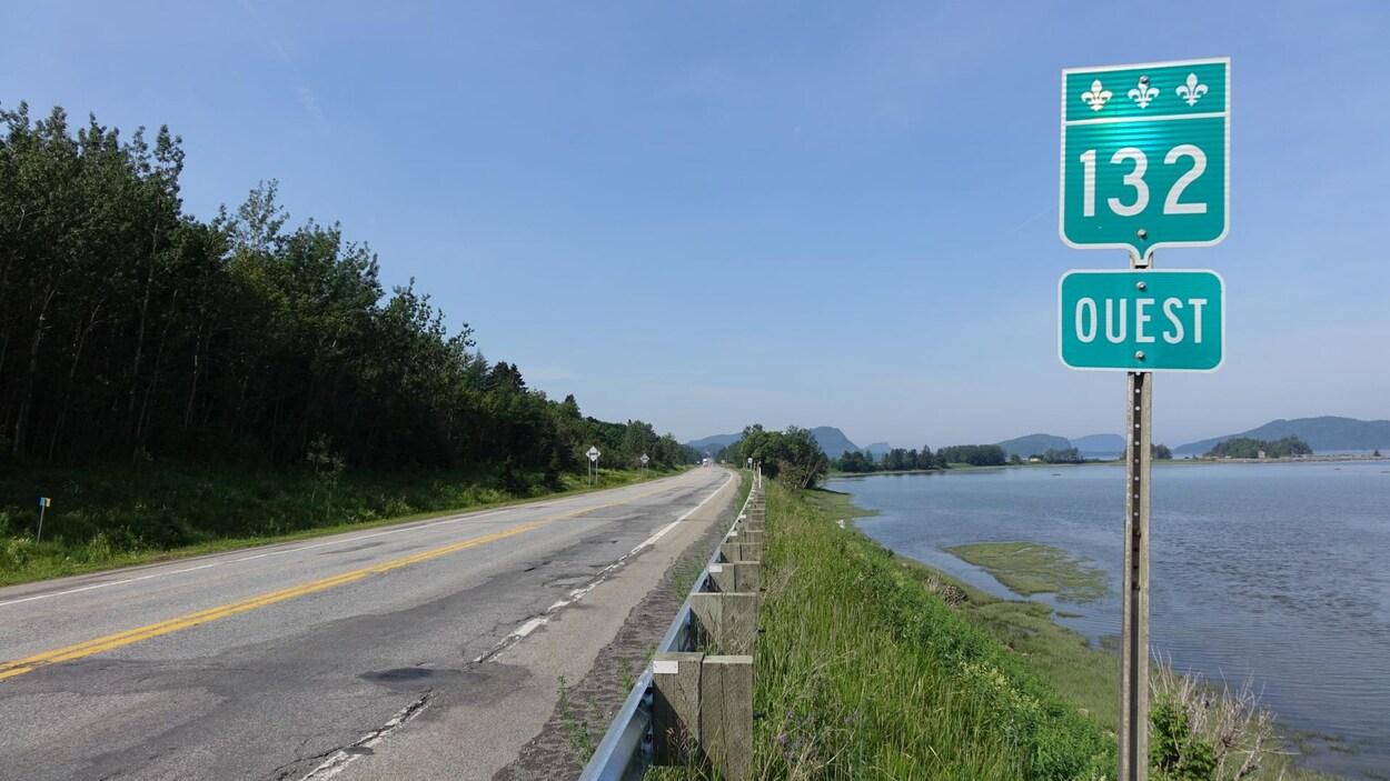 route 132 et îles du Bic