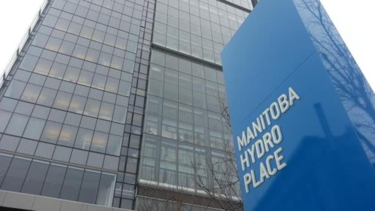 Le quartier général d'Hydro Manitoba