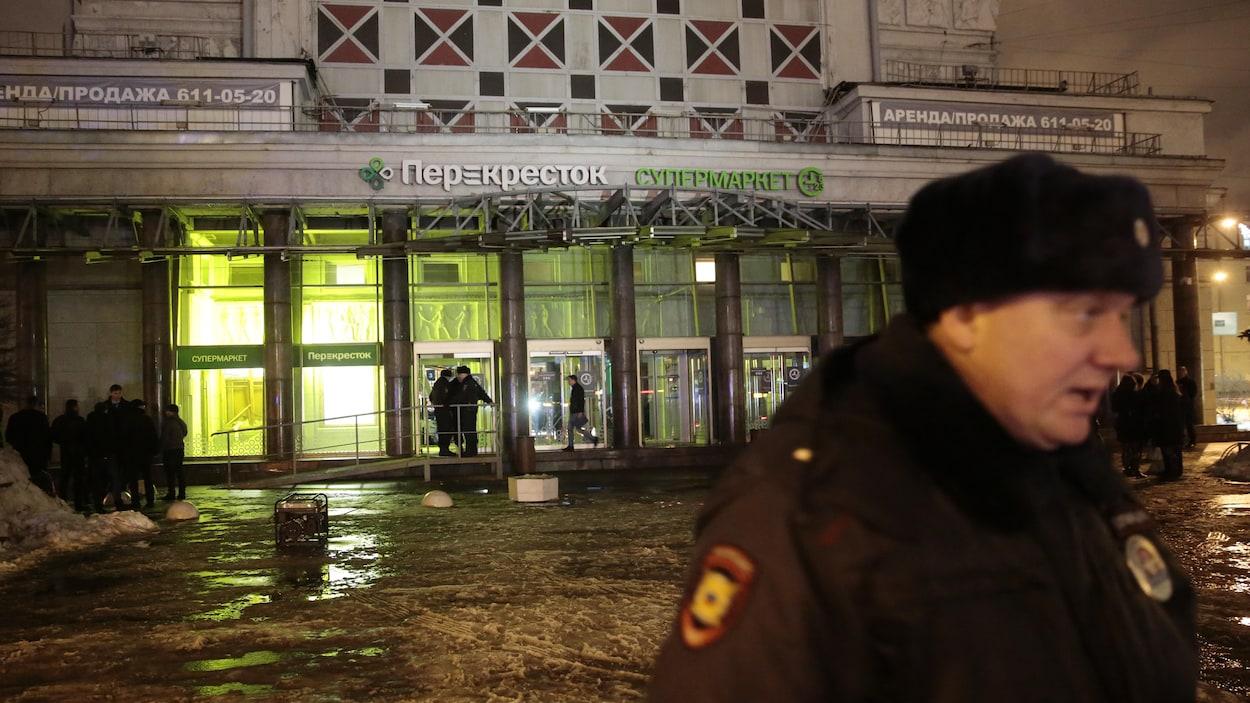L'Etat islamique revendique l'explosion dans un supermarché à Saint-Pétersbourg — Russie