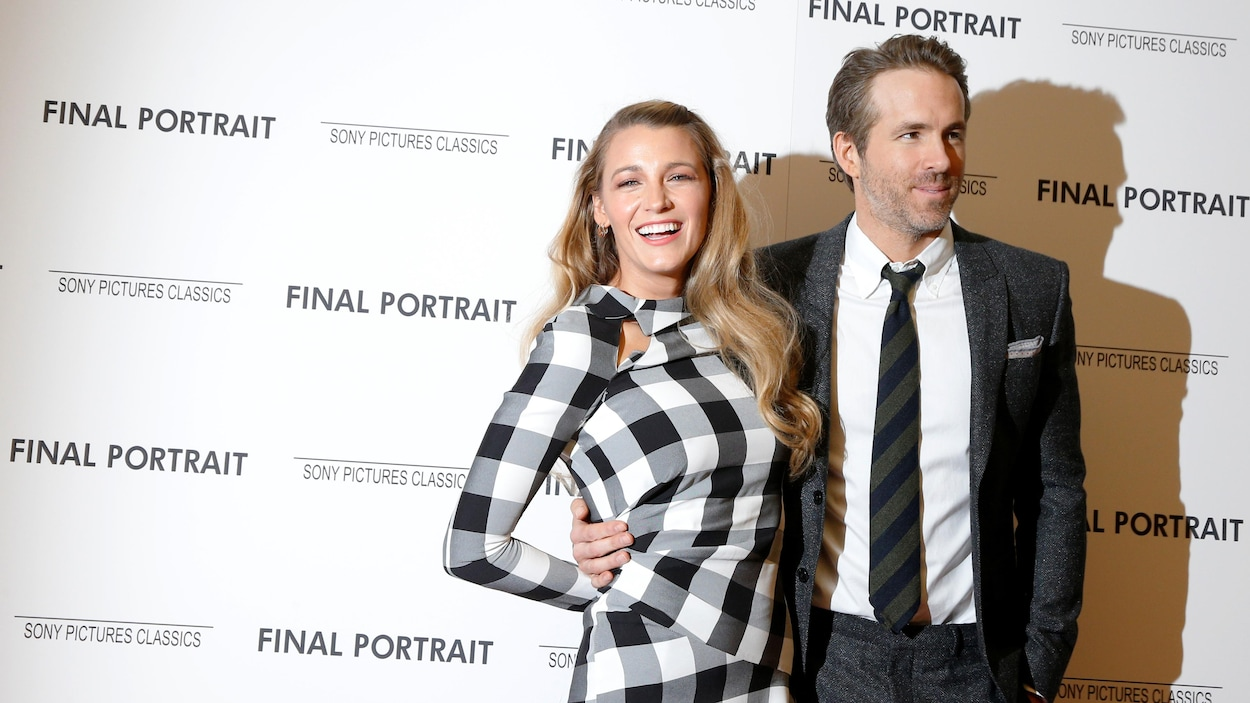Le couple holywoodien Blake Lively et Ryan Reynolds en 2018.