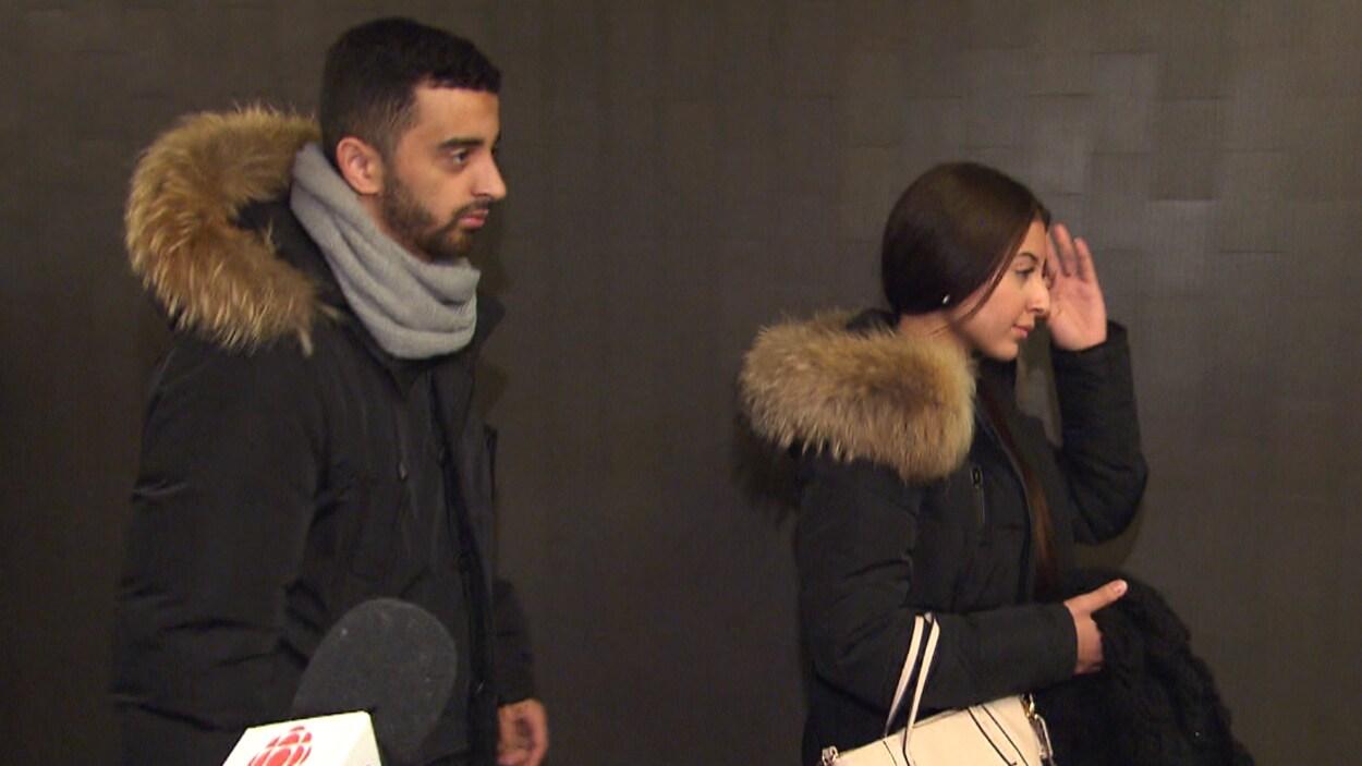 Sabrine Djermane et El Mahdi Jamali