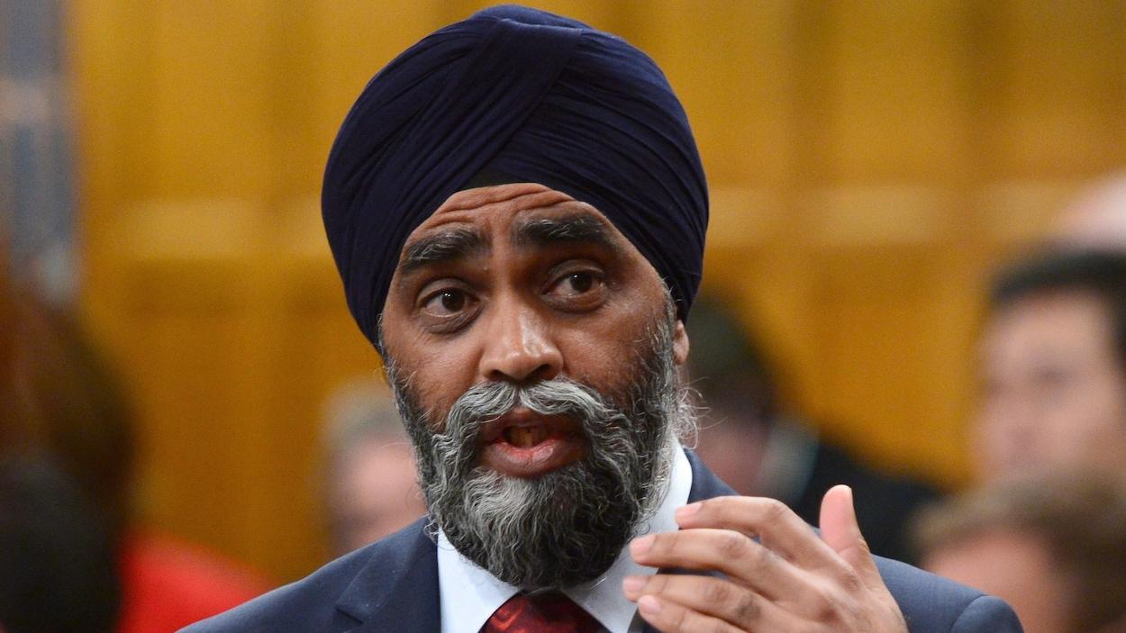 Harjit Sajjan, ministre de la Défense du Canada