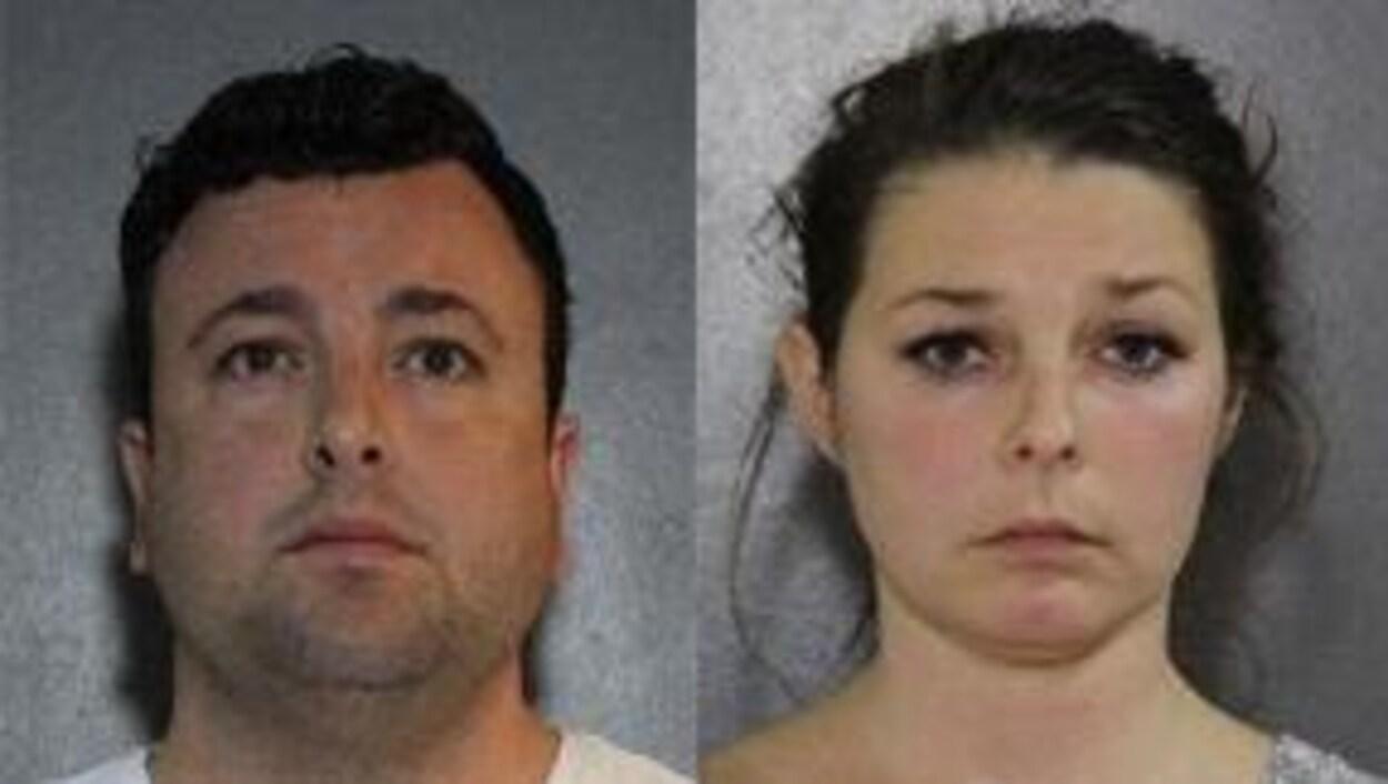 Photos des visages de Samuel et Madelaine Emerson qui font face à 13 accusations d'agression sexuelle.