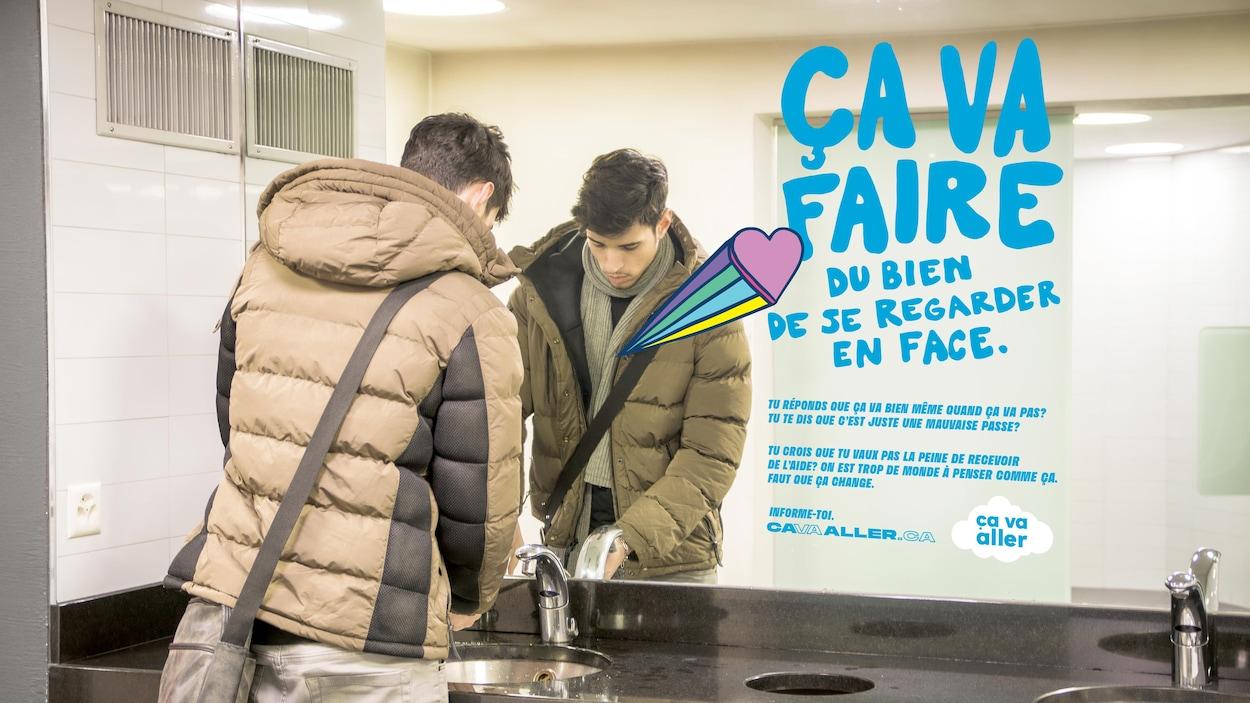 Le Centre de santé et de consultation psychologique fait figure de pionner dans le monde universitaire canadien avec sa campagne « Ça va aller ».