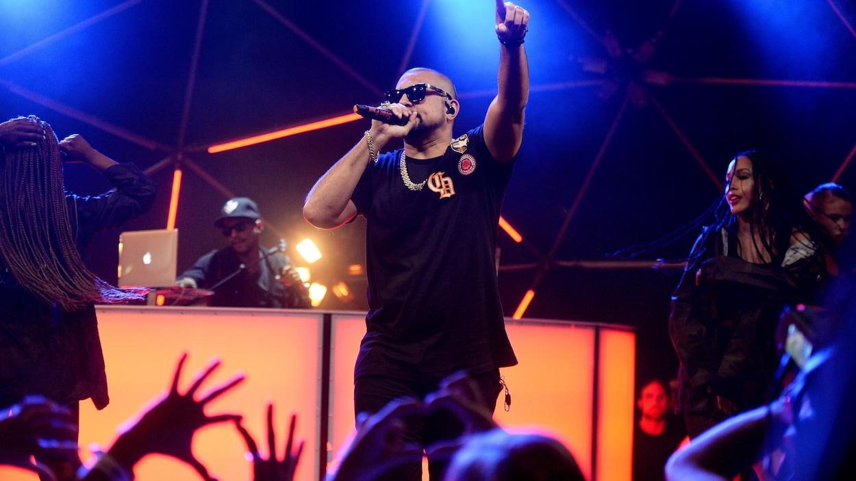 Sean Paul à MTV Live Stage en juin 2017 à Londres.