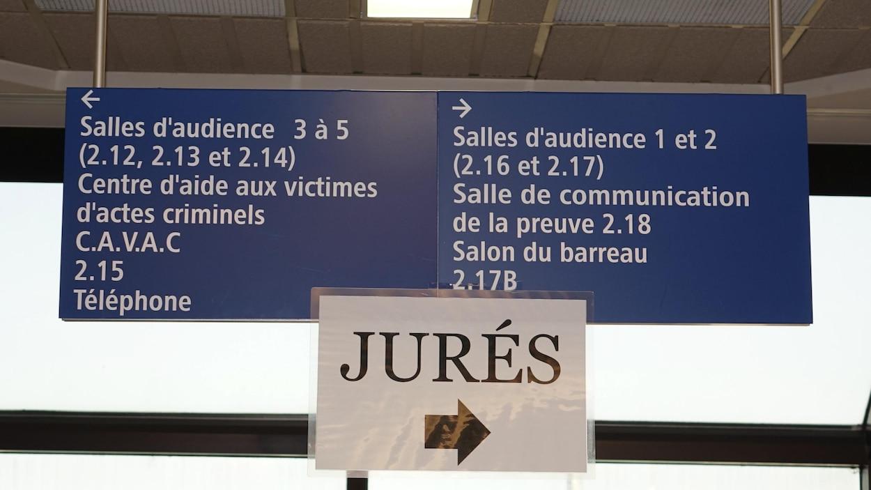 La sélection du jury du procès des accusés de la tragédie de Lac-Mégantic.