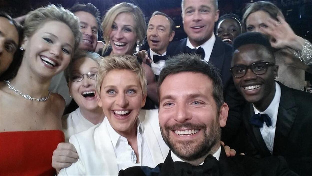L'égoportrait d'Ellen DeGeneres aux Oscars 2014
