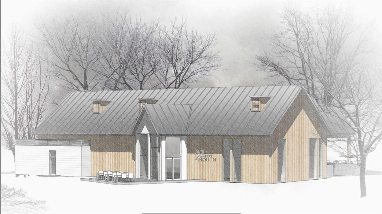 Le nouveau bâtiment de services devrait être complété à l'hiver 2019