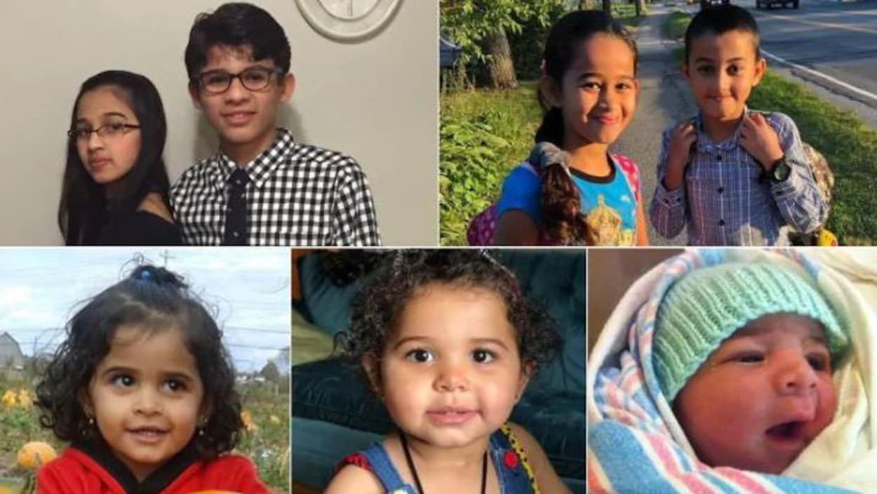 Les sept enfants de la famille Barho sont morts dans un incendie dans la nuit de lundi à mardi à Halifax.