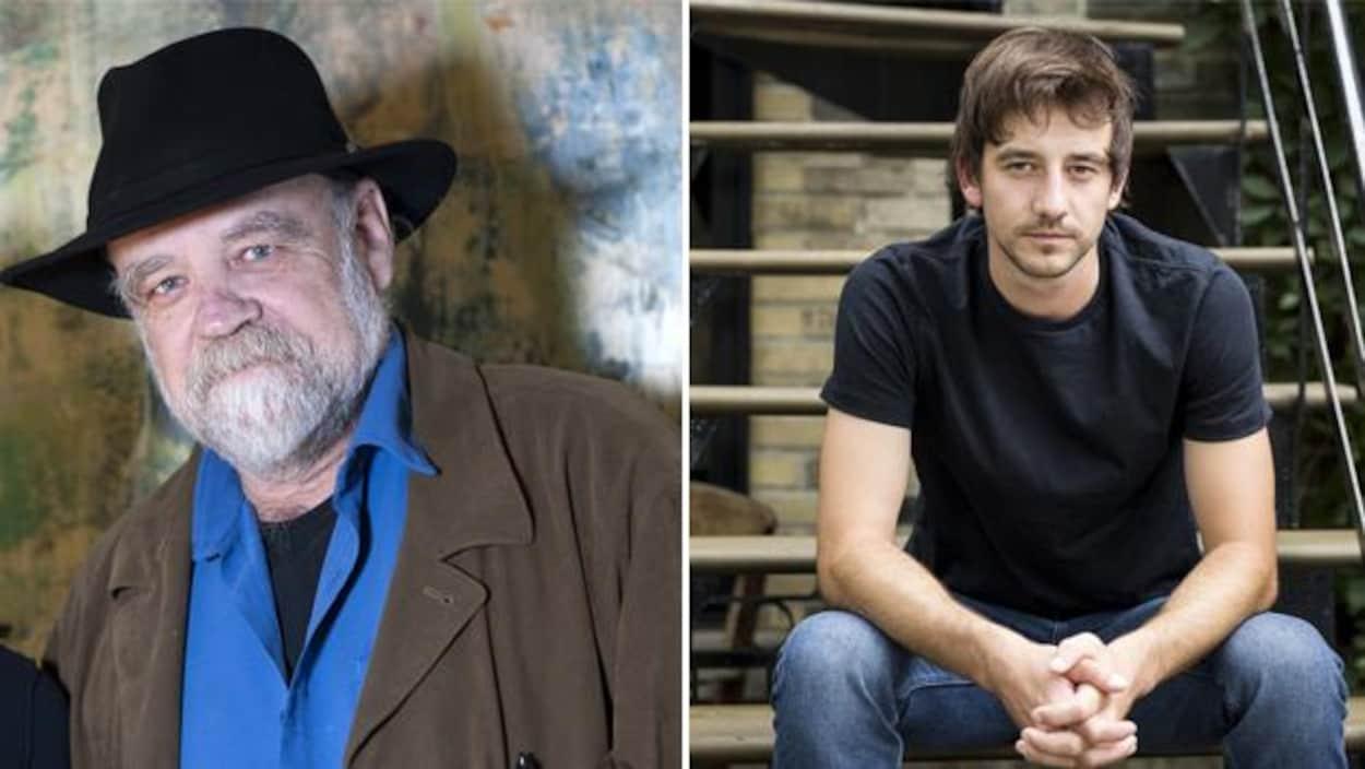 Les auteurs Serge Bouchard et Christian Guay-Poliquin