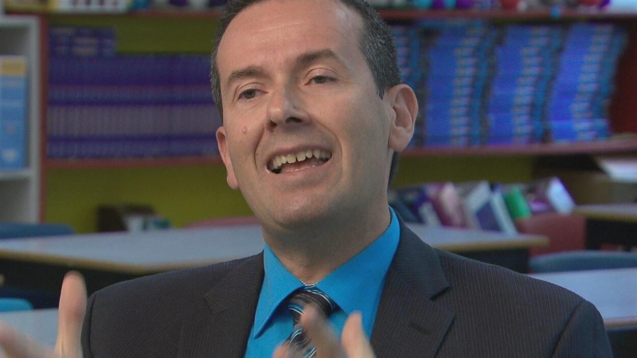 Le ministre de l'Environnement du Nouveau-Brunswick, Serge Rousselle.