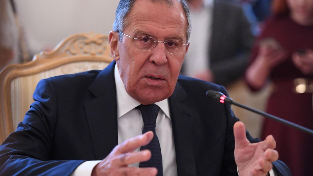 La Russie annonce l'expulsion de 23 diplomates britanniques