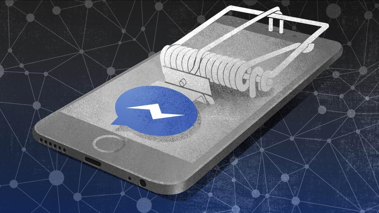 Un réseau frauduleux de faux profils sur Facebook hameçonne des hommes à l'aide de photos de jeunes femmes et d'adolescentes volées sur le web.
