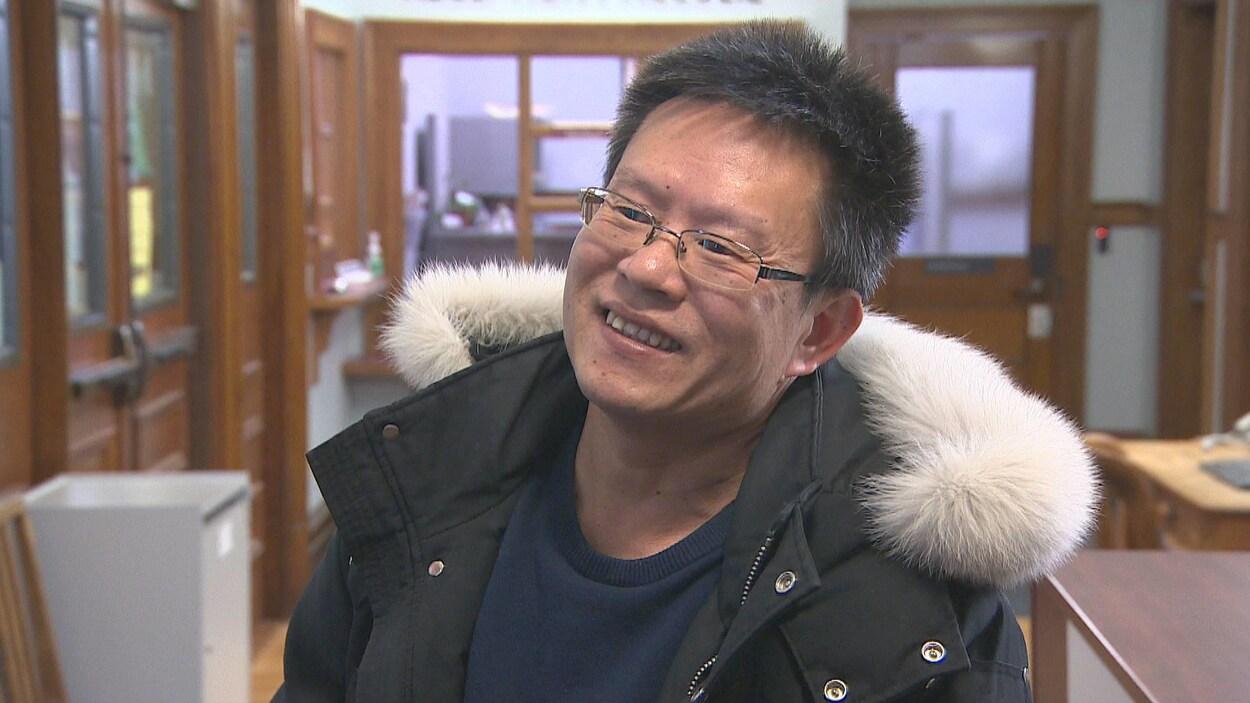 Sheng Ren Zheng à Digby en janvier 2020.