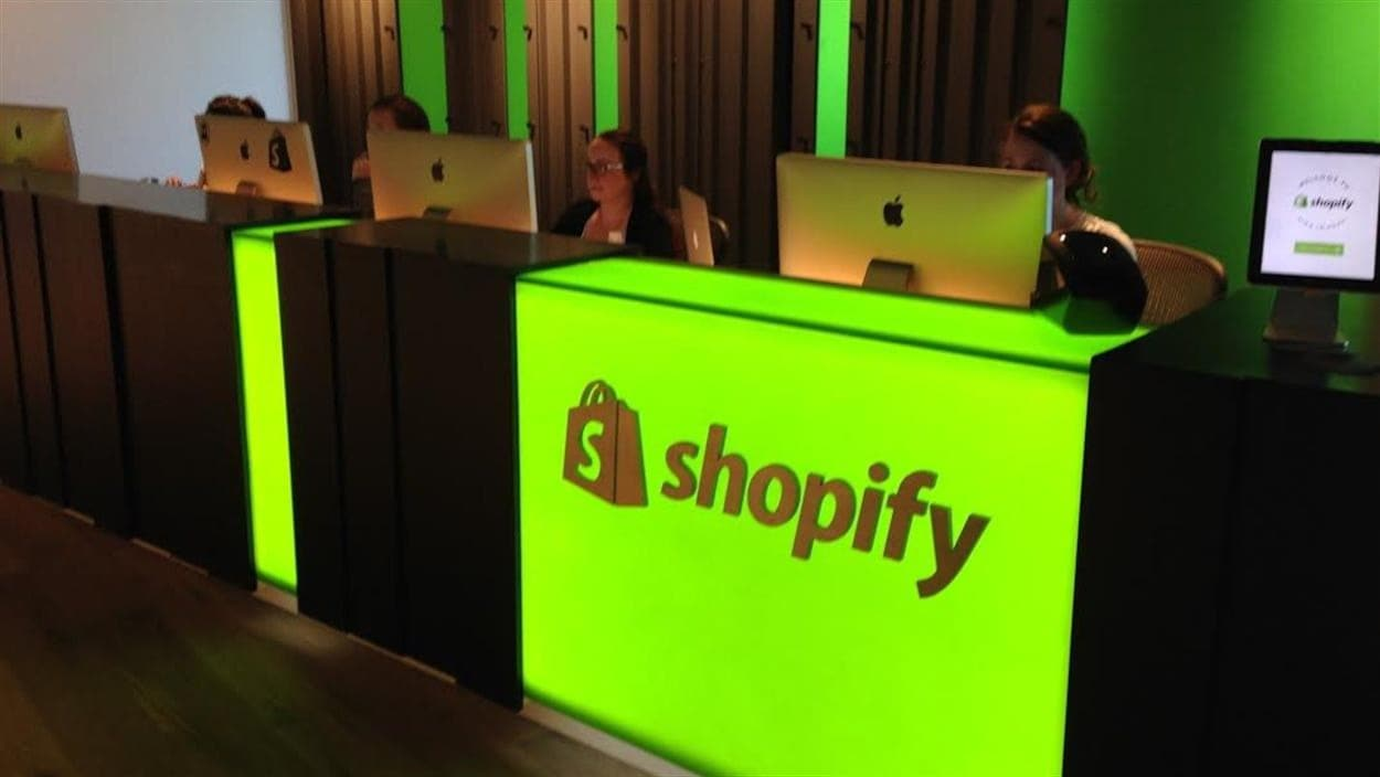 Le nouveau siège social de Shopify à Ottawa. (Archives)