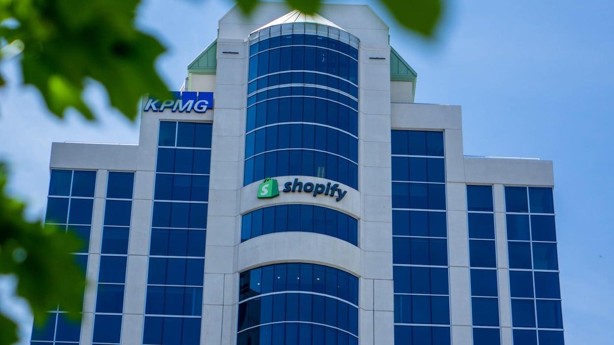 Édifice extérieur de Shopify