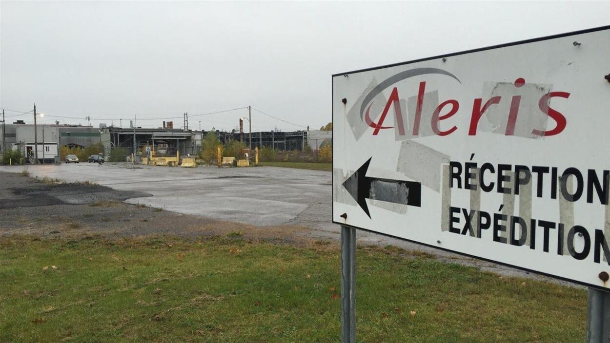 L'emplacement de l'ancienne usine Aleris dans le secteur Cap-de-la-Madeleine à Trois-Rivières.