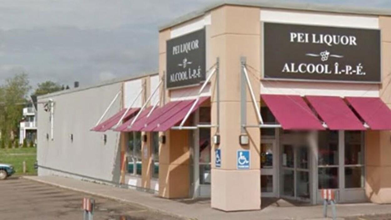 Une succursale de la société des alcools de l'Île-du-Prince-Édouard