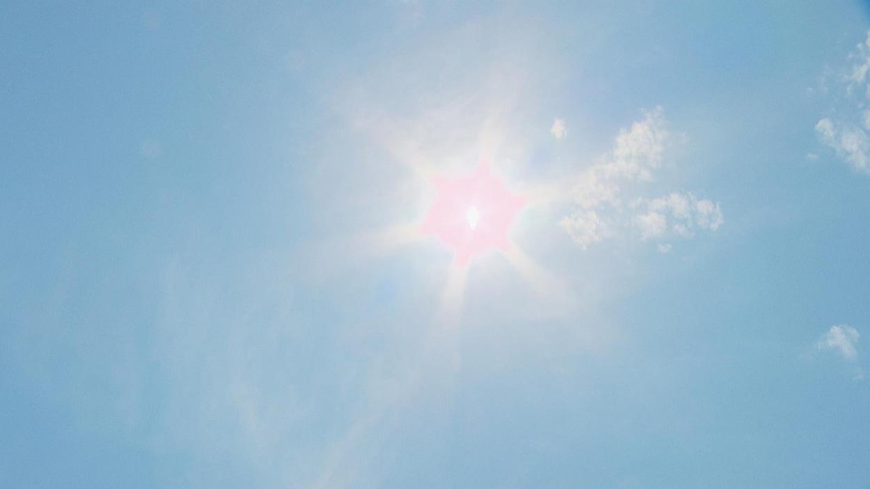Le soleil est bien présent depuis les derniers jours dans la région de Moncton.