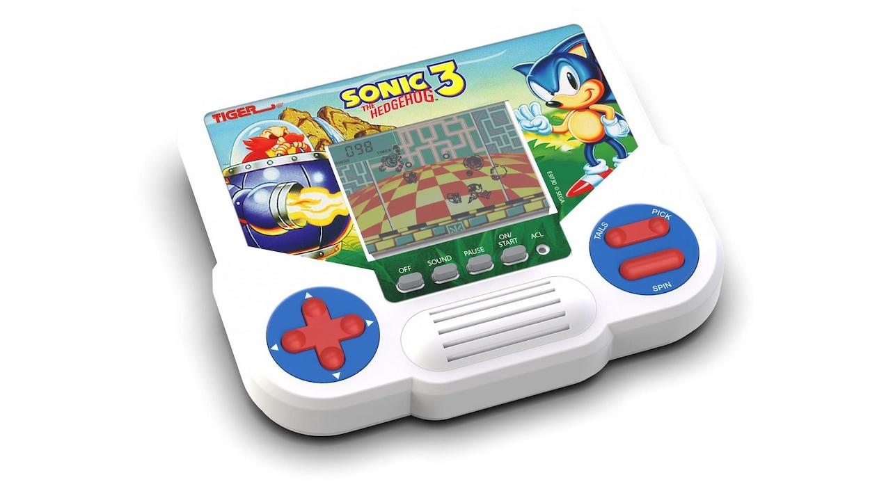 Un jeu Tiger Electronics de Sonic 3.