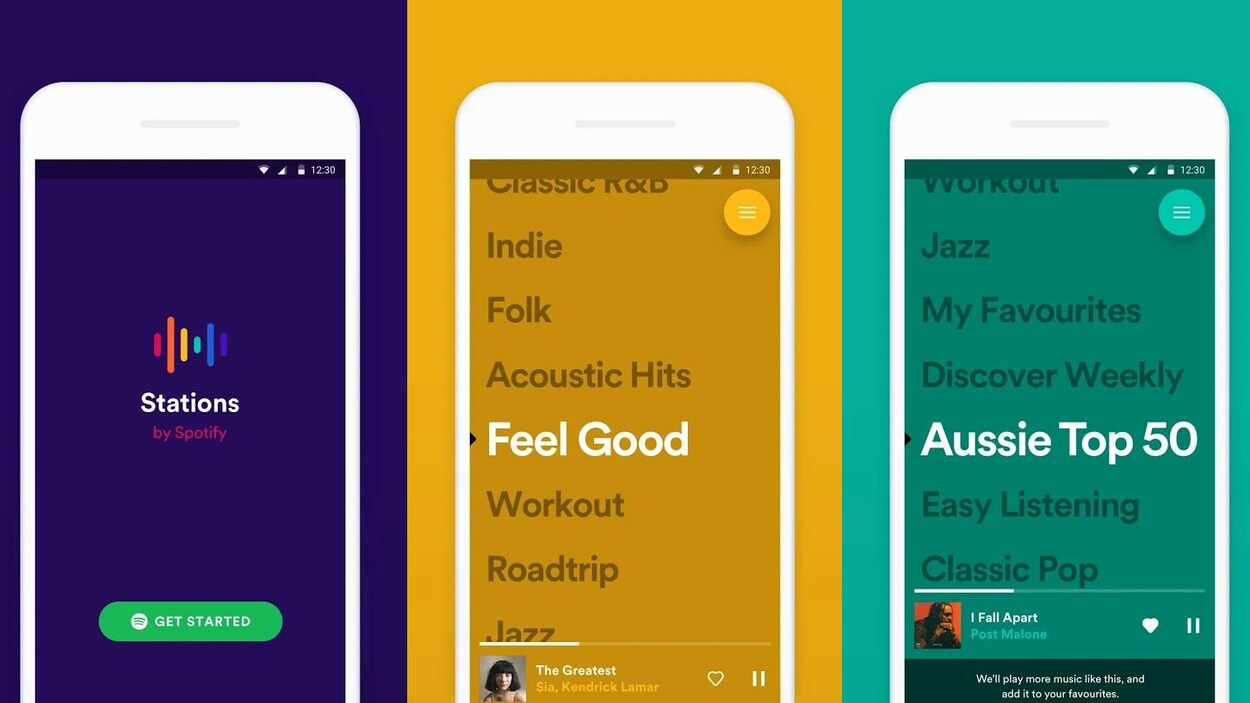 Des radios en fonction de vos goûts — Spotify teste Stations