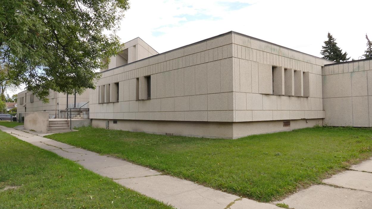 L'ancienne station de police de Saint-Boniface.