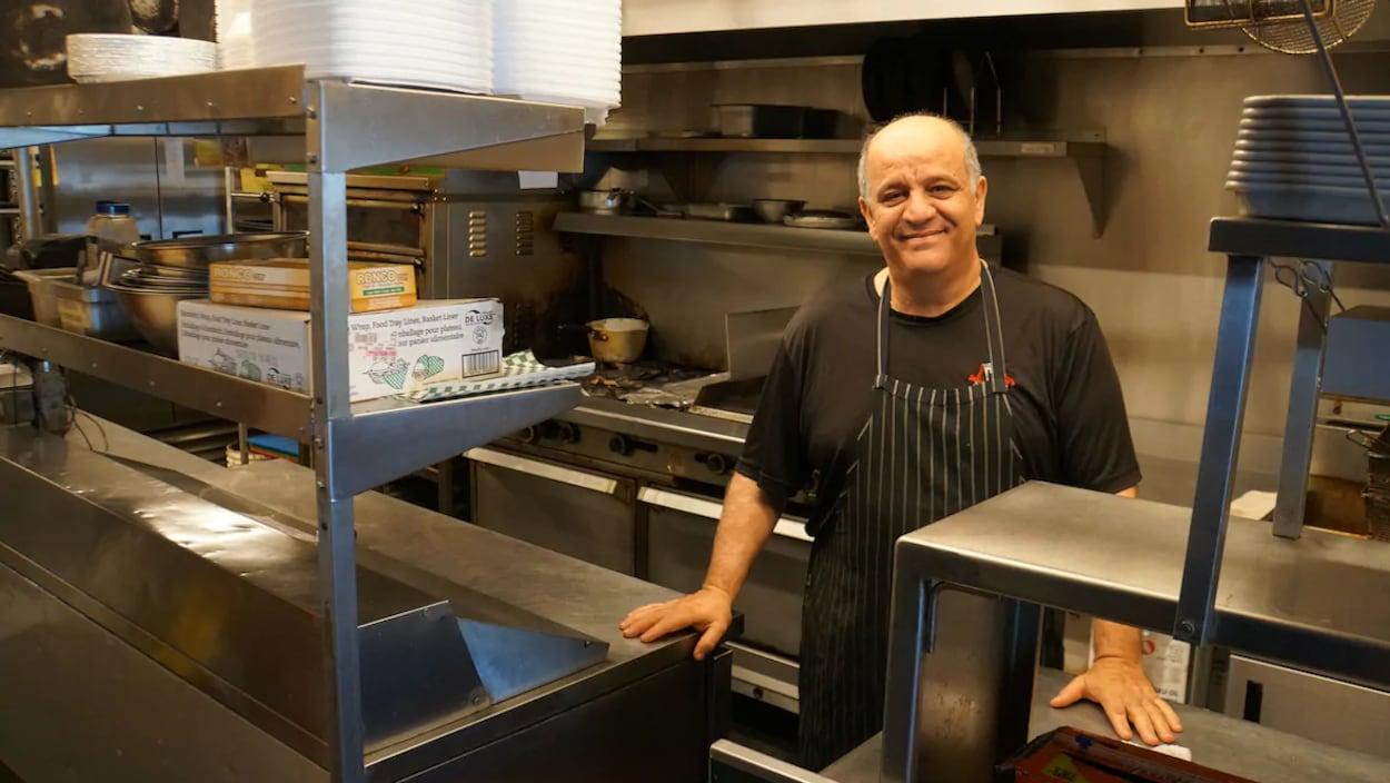 Stelios Constantinou, propriétaire de Vespa Street Kitchen.