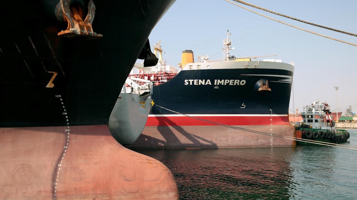 Le pétrolier Stena Impero saisi par l'Iran