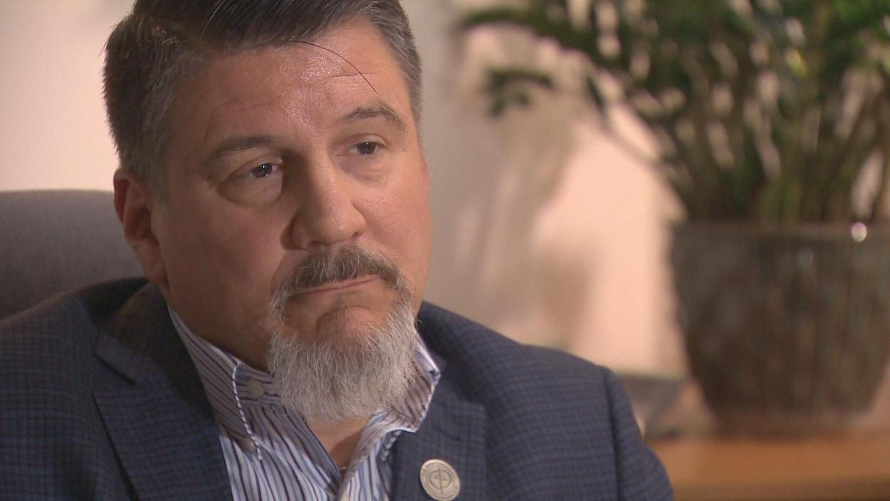 Steve Roberge, directeur général de la Commission de police du Nouveau-Brunswick