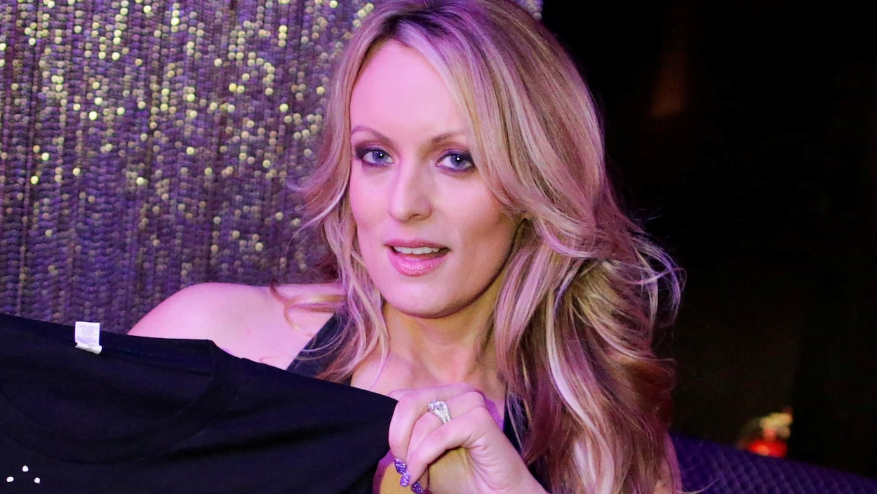 Stephanie Clifford aussi connue comme Stormy Daniels