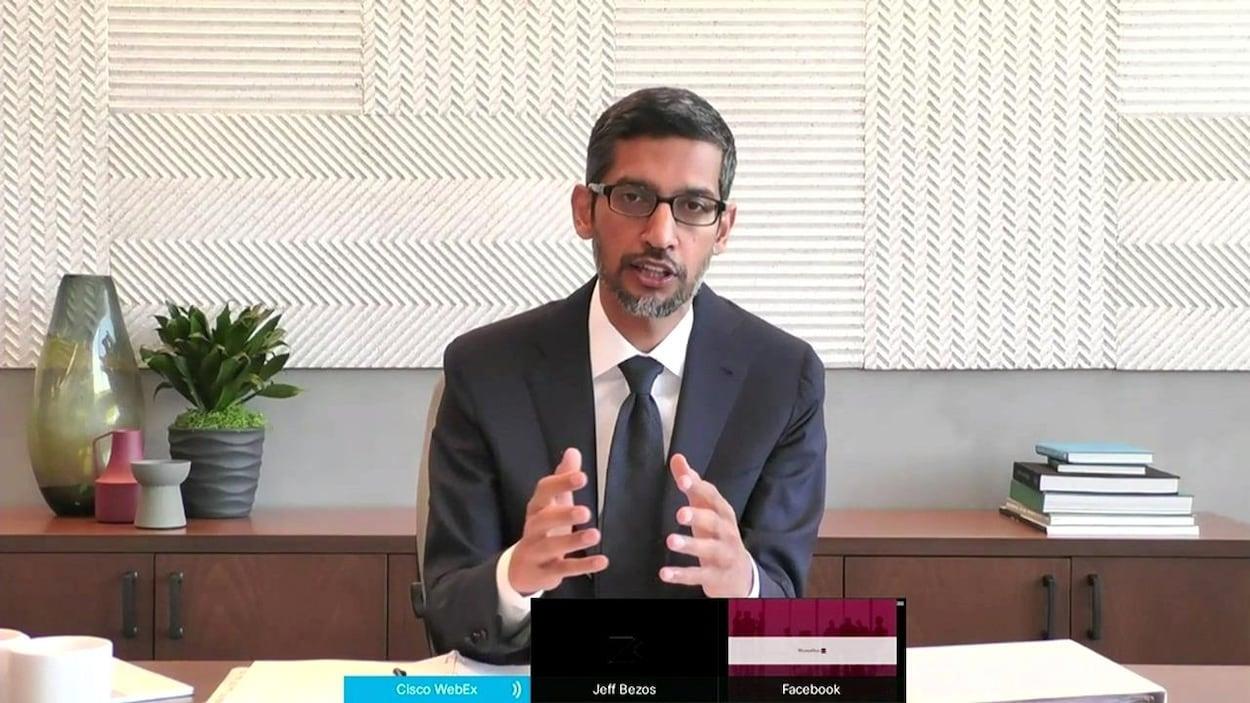 Sundar Picha, le PDG de Google.