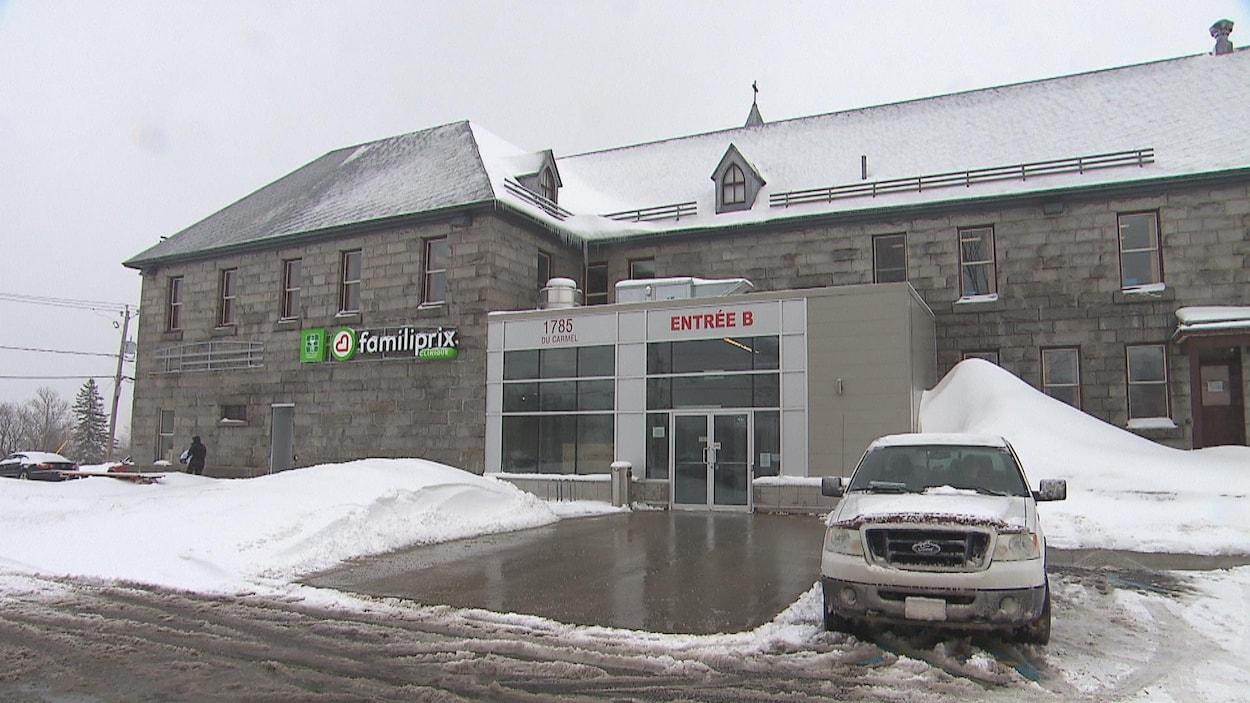 Façade du bâtiment où se trouve le GMF Réseau de Trois-Rivières